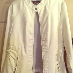Jackets & Blazers - Baccini Leather Jacket